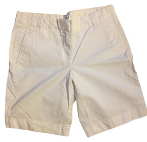 J.Crew Chino Bermuda Shorts White