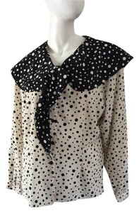 Other Vintage Vintage Button Up Polka Dots Top