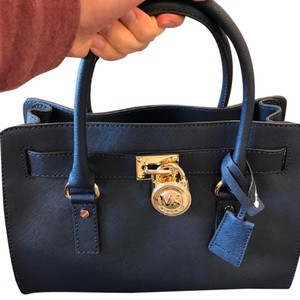 Michael Kors Satchel in Navy