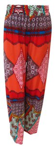 Kaktus Relaxed Pants Red