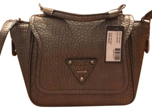 Guess Satchel in silver gray