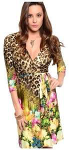 Other Leopard Floral Dress