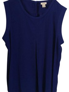 J.Crew Top Deep Blue