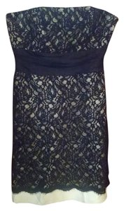 White House | Black Market Lace Strapless Dress