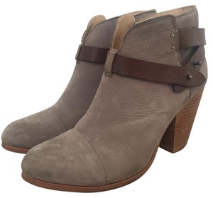 Rag & Bone Suede Taupe Tan Leather Taupe Suede Boots