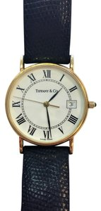 Tiffany & Co. Authentic Vintage Tiffany & Co 14kt Gold Watch