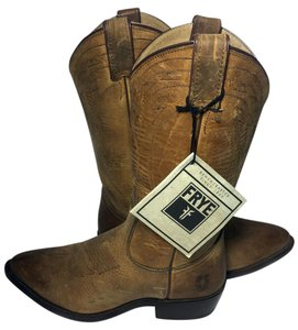 Frye 77700 Billy Billy Pull On Cowgirl 8.5 Cowgirl 8.5 Brown Boots