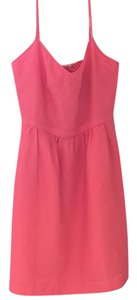 J.Crew short dress Pink on Tradesy