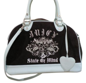 Juicy Couture Brown/Blue Travel Bag
