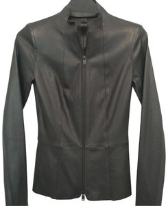 Jitrois Fitted Spring Lambskin Sexy Leather Jacket