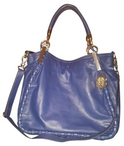 Vince Camuto Leather Satchel in Blue