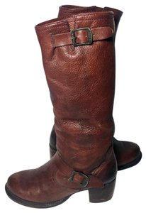Frye Vera Slouch Engineer Size 8 Women 8 Brown Boots