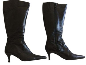 Tolino Spain Leather Black Boots