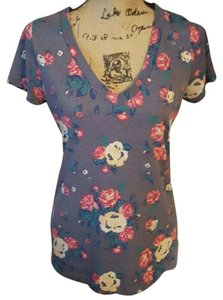 Mossimo Supply Co. #floralprint #vneck #shortsleeves #cottonpolyblend #smokefreehome T Shirt