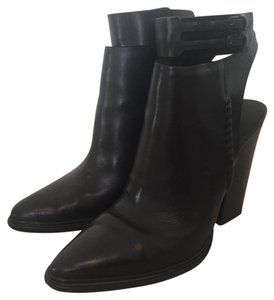 Alexander Wang Calfskin Leather Black Boots