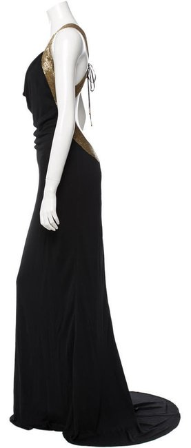 Roberto Cavalli Maxi Gown Size 44 With Beading Dress