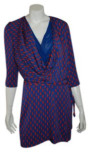 Diane von Furstenberg Dvf F Silk Dress