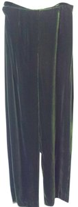Ann Taylor Wide Leg Pants Deep Green