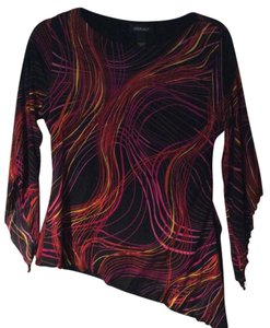 Ideology Evening Casual Funky Hipster Top Multi-color