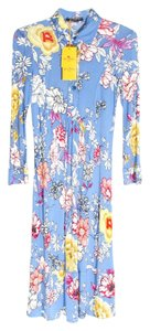 Blue Maxi Dress by Etro
