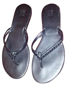 New York & Company Black Sandals