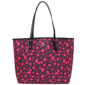 Coach F55862 Tote in Pink/Midnight