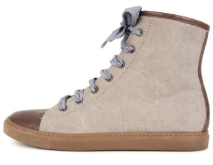 Brunello Cucinelli grey & brown Boots