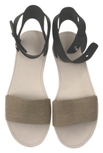 Vince black and beige Sandals