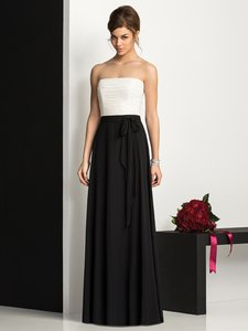 After Six Black / Ivory After Six Bridesmaid Dress 6677 Black / Ivory Size 12 Dress