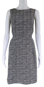 Ann Taylor Tweed Sheath Sleeveless Dress