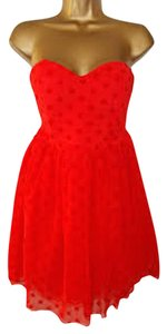 ASOS Polka Dot Sweetheart Tulle Party Dress
