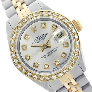 Rolex Rolex Ladies datejust 69173 Silver Diamond Two-Tone Watch