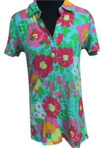 Lilly Pulitzer Hawaiin Floral T Shirt multi