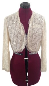 Betsey Johnson Sequins Bolero Party Dance Sweater