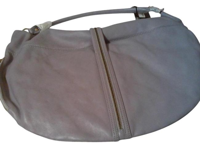 Item - Darling Periwinkle Leather Hobo Bag