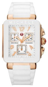 Michele Women's Park Jelly Bean Rose Gold White Watch MWW06L000014