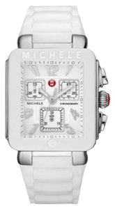 Michele Jelly Bean Park Women's Silver White Watch MWW06L000001