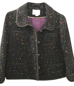 Kate Spade Multi colored boucle cropped blazer