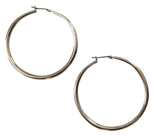 Other silver plated hoop earrings