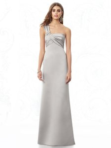 After Six Oyster After Six Bridesmaid Dress 6682 Oyster Size 14 Dress