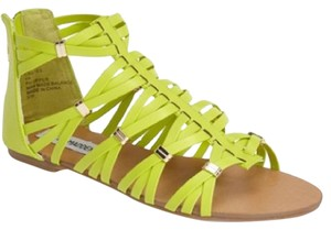 Steve Madden Neon Green Sandals
