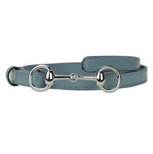 Gucci GUCCI 282349 Women's Leather Skinny Belt with Horsebit Buckle 80-32