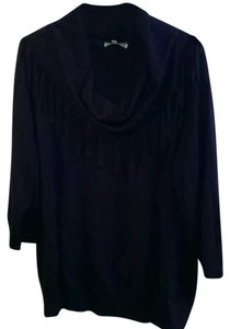 Notations Eggplant Pullover Top Purple