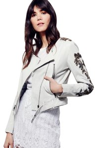 DOMA Ivory Leather Jacket