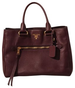 Prada Satchel in Dark burgundy