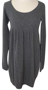 Vince short dress Grey Cashmere Broqn Sweater on Tradesy