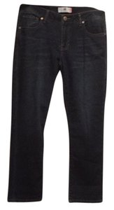 CAbi Capri/Cropped Denim-Dark Rinse