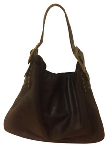 Be&D Be & D Crawford Leather Hobo Bag