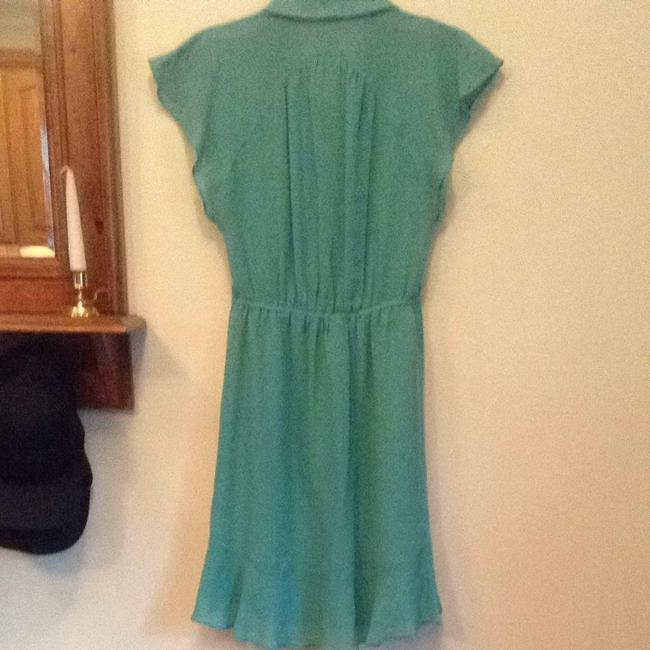 Nanette Lepore short dress Light Teal on Tradesy