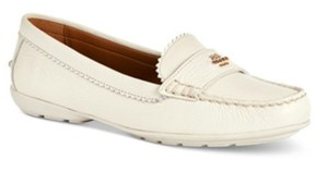 Coach Loafer Odette Casual Espadrilles Casual Ivory Flats